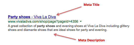 party shoes meta example